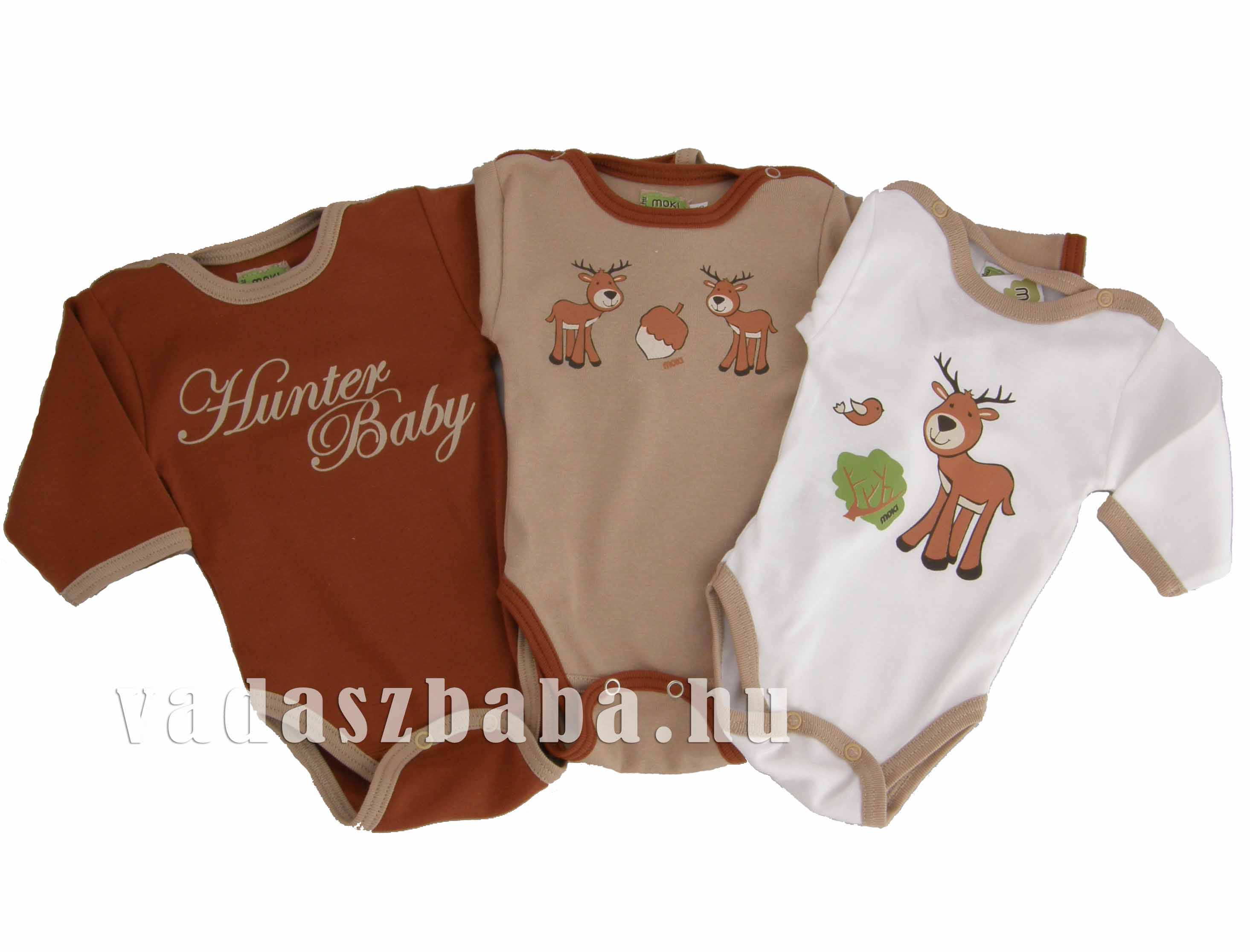 Hunter Baby feliratos rozsdabarna body. Hunter ... d4ca0b3309