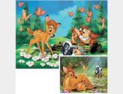 Bambi puzzle, 2x20 db
